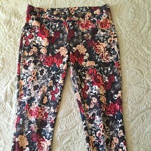 HUE FLOWER PANTS